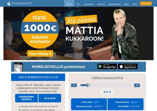 Suomilimiitti.fi verkkosivusto
